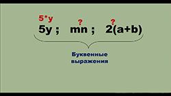 буквенные