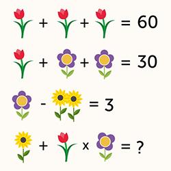 Мышление. Математические головоломки. 9лет