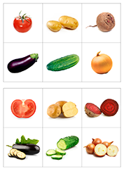 овощи 2 3года