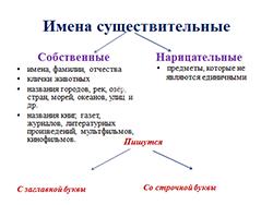 Нарицательные и собственные существительные. 8лет (фото 1)