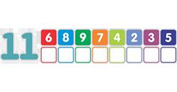 состав чисел в пределах 20