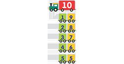 состав чисел в пределах 10